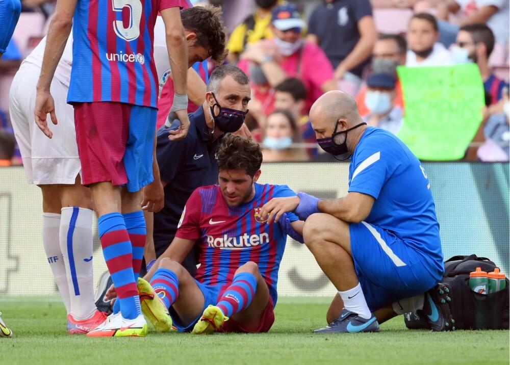 Sergi Roberto sufrió una fisura Foto AFP.jpg