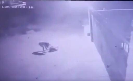 ladrón electrocutado en Paraguay
