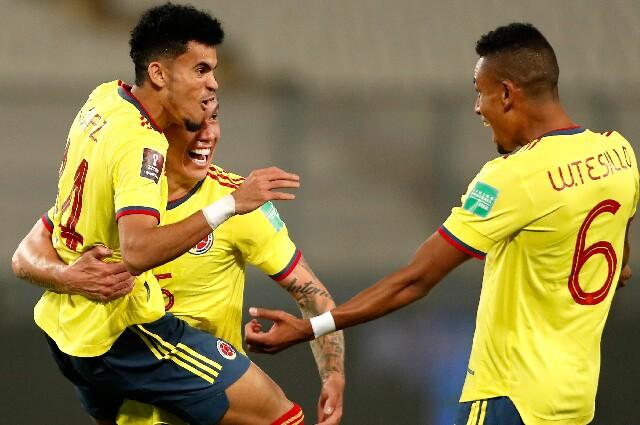 Selección Colombia para enfrentar a Brasil