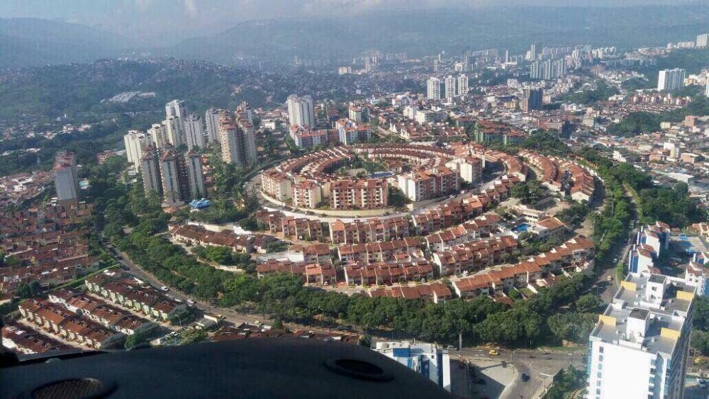 296882_Panorámica Real de Minas / foto: Policía de Bucaramanga
