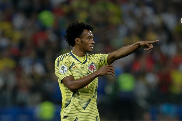 Juan Guillermo Cuadrado jugador de Selección Colombia.