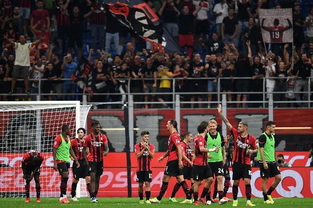 AC Milan venció 2-0 a Lazio, en la Serie A