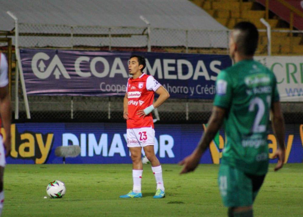 Fabián Sambueza. Foto: Independiente Santa Fe