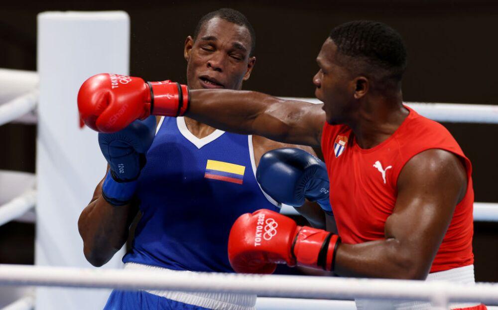 Cristian Salcedo perdió en la categoría de los súper pesados del boxeo de los Juegos Olímpicos de Tokio 2020.