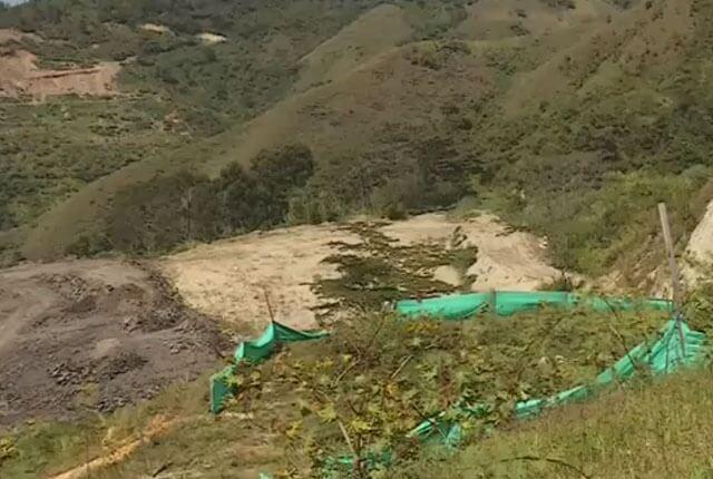 La Escombrera, comuna 13 de Medellín.