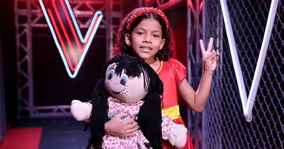 Isabella de La Voz Kids