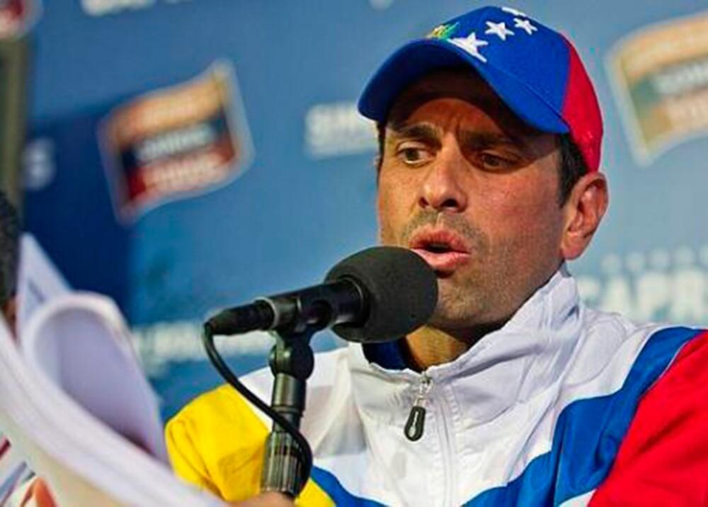98732_BLU Radio. Henrique Capriles / Foto: AFP