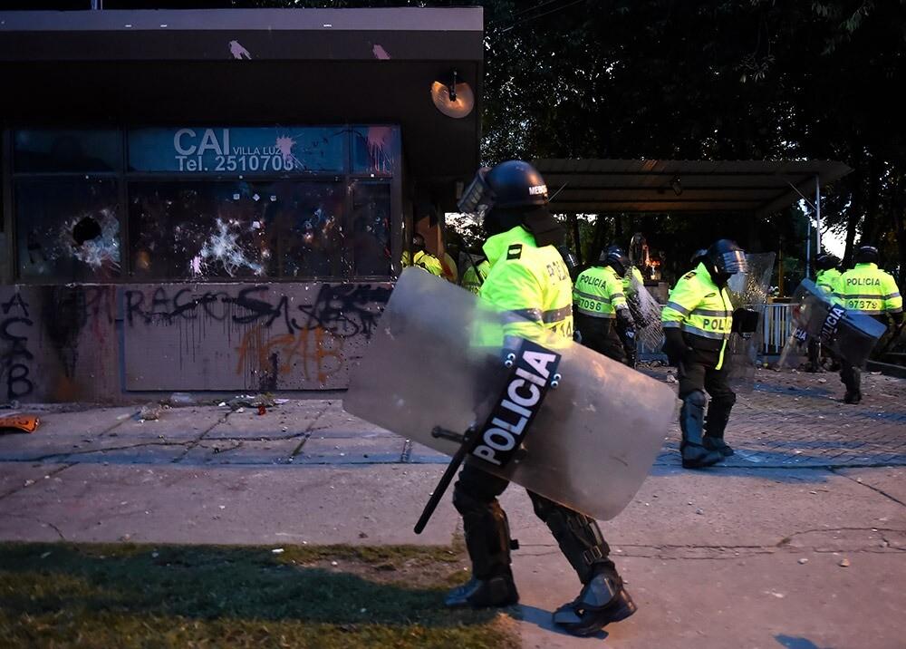 Ataque a CAI :: Foto: AFP .jpeg