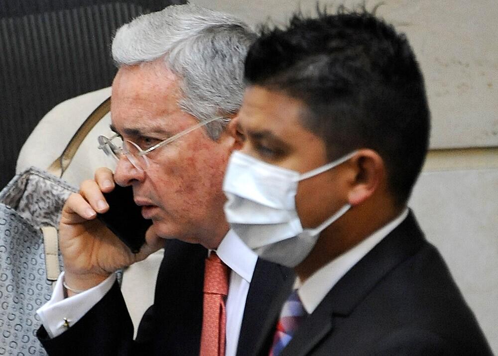 Álvaro Uribe // Foto: archivo AFP