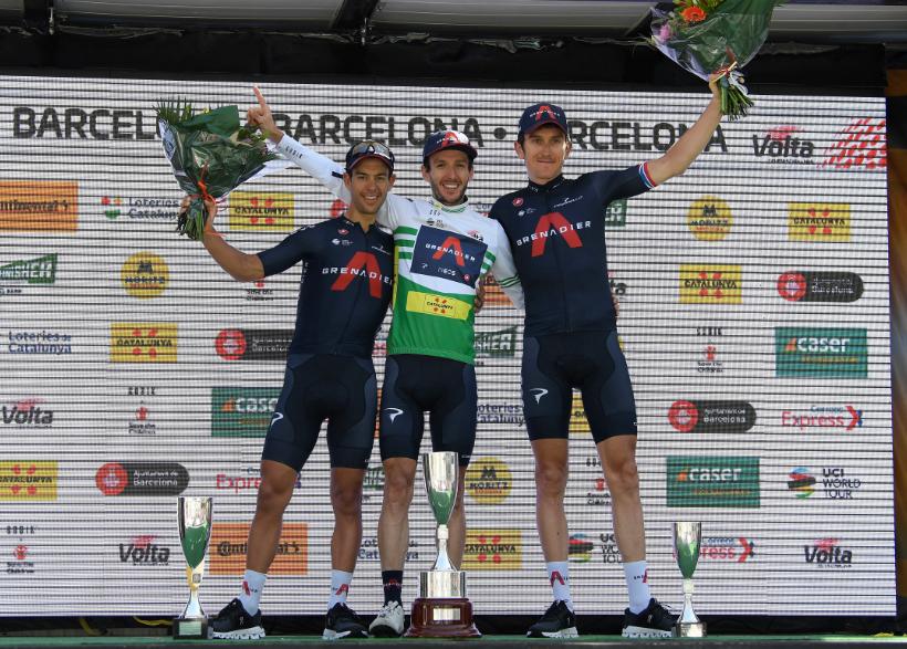 Ineos mandó en la Vuelta a Cataluña con Adam Yates, Richie Porte y Geraint Thomas.