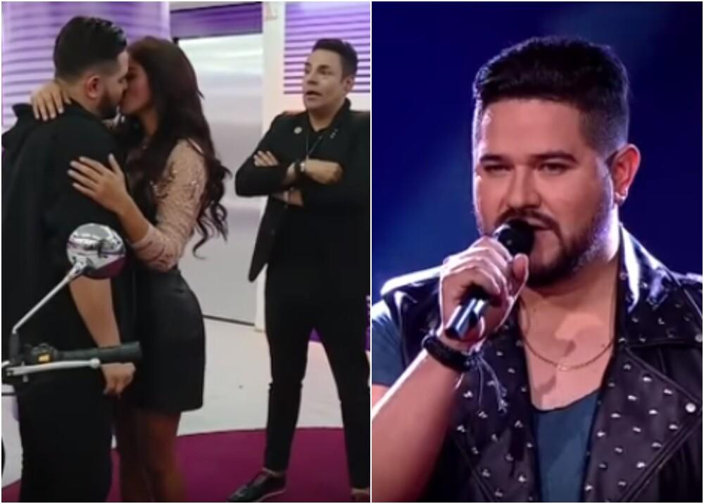12845_La Kalle. El beso que le dieron a Jessi Uribe de 'Yo Me Llamo' / Foto: captura video