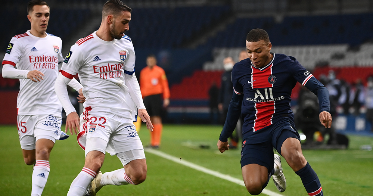 PSG cedió terreno en la Liga de Francia: cayó 0-1 con Lyon y es tercero en la tabla de posiciones