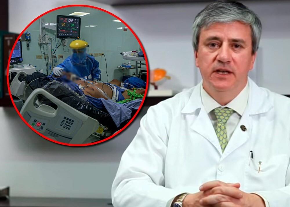 371009_Roberto Baquero, presidente del Consejo Médico Colombiano habla sobre asignación de UCI // Imágenes: Fasecolda, AFP