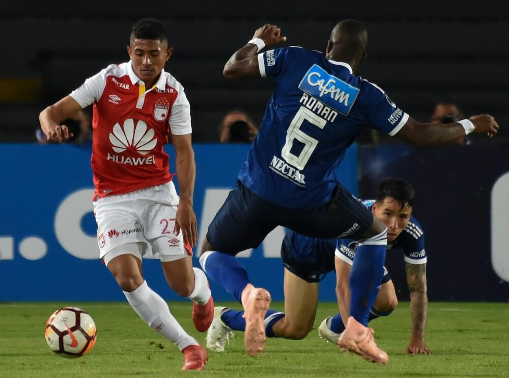 Santa Fe - Millonarios / AFP