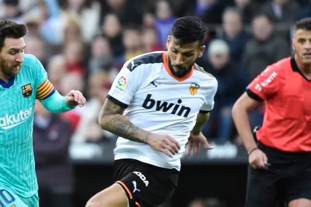 332892_Ezequiel Garay, defensor argentino del Valencia, de España