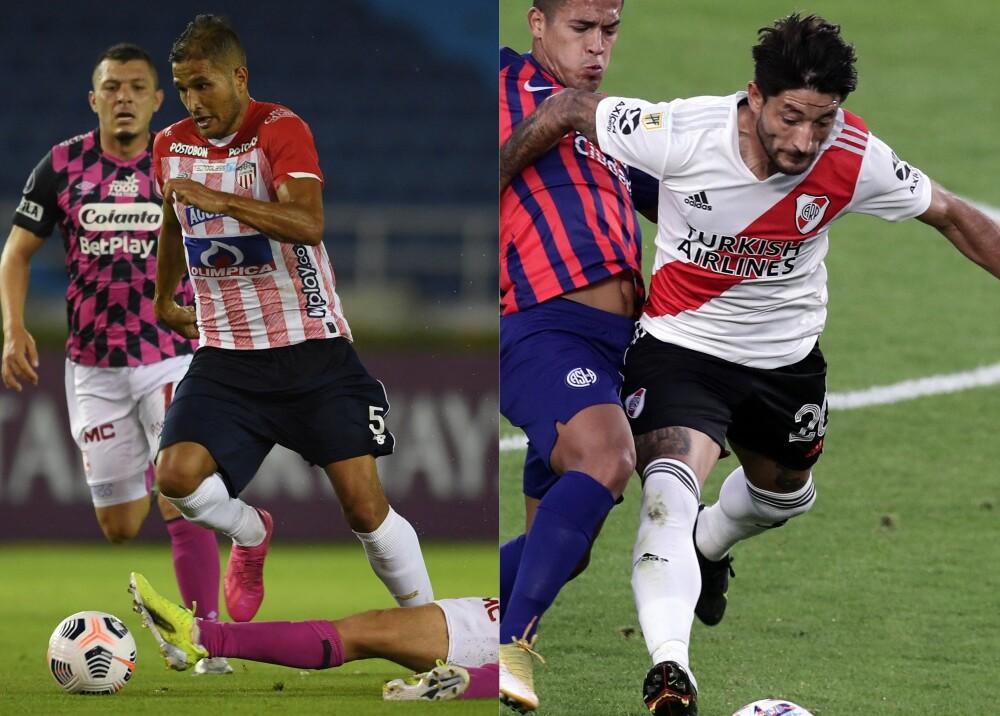 Junior y River Plate Foto AFP.jpg