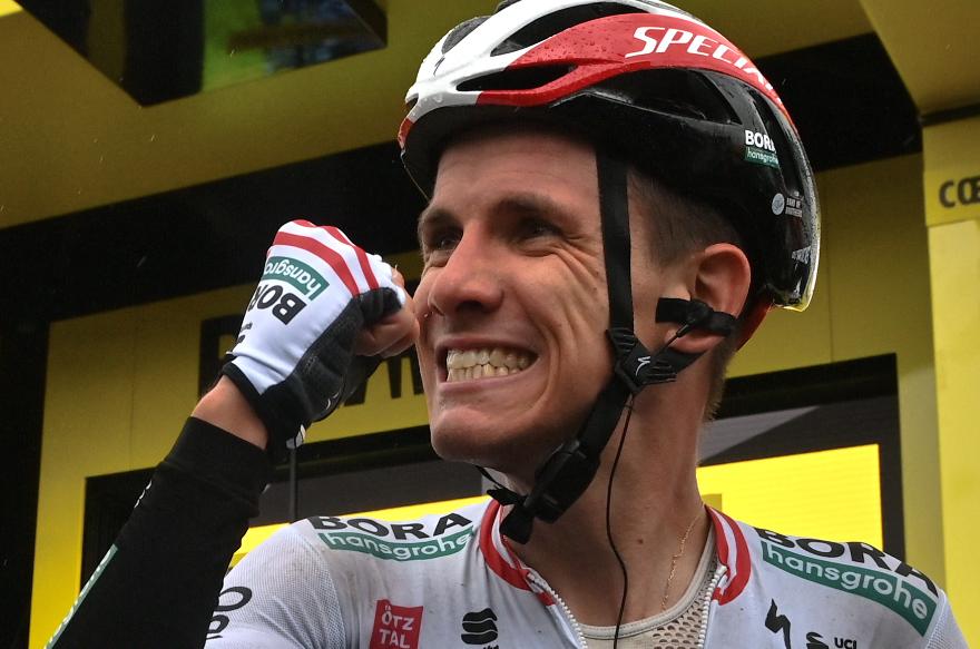 Patrick Konrad fue el ganador de la etapa 16 del Tour de Francia.