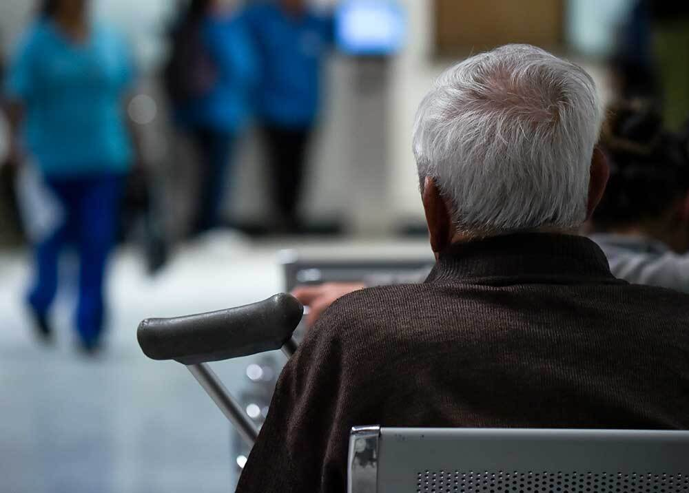 327064_Pacientes EPS / Foto: AFP