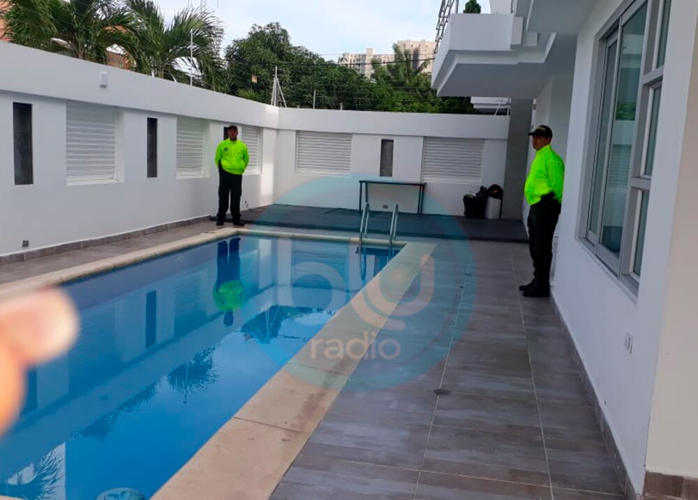 347258_BLU Radio. Casa Aida Merlano en Barranquilla // Foto: Policía
