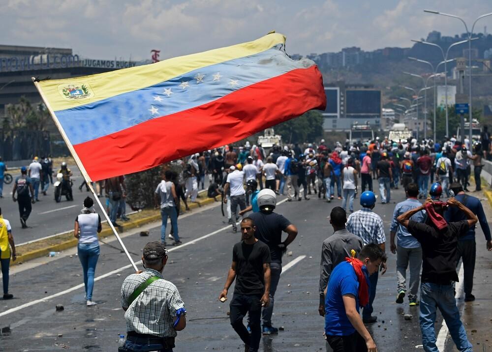 333076_BLU Radio // Situación de orden público en Venezuela // Foto: AFP