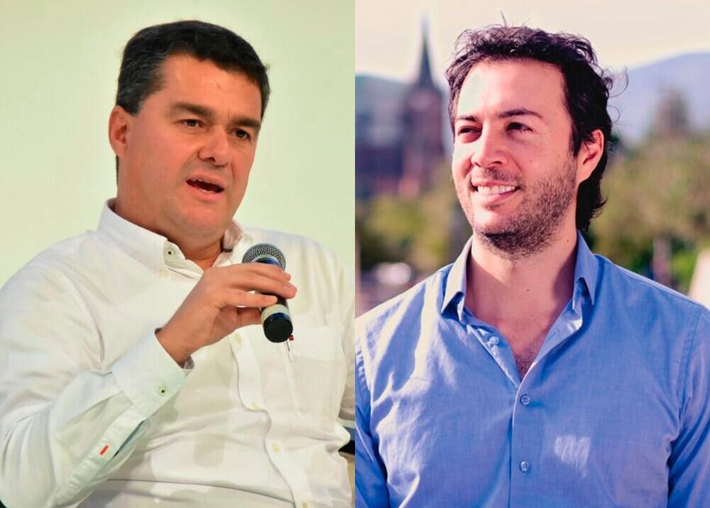 374745_Carlos Raúl Yepes y Daniel Quintero Calle // Fotos: SIC - Facebook Daniel Quintero