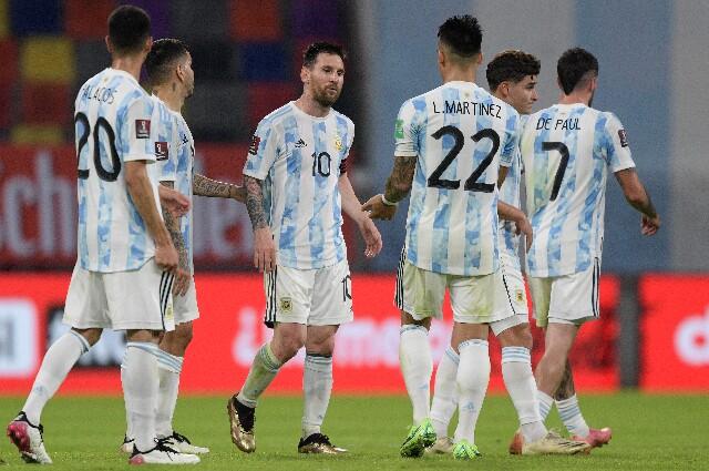 Cambios en Argentina contra Colombia