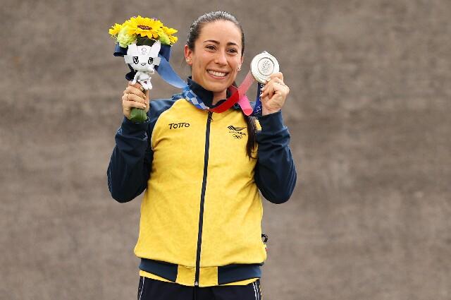 Mariana Pajón, en los Juegos Olímpicos de Tokio 2020