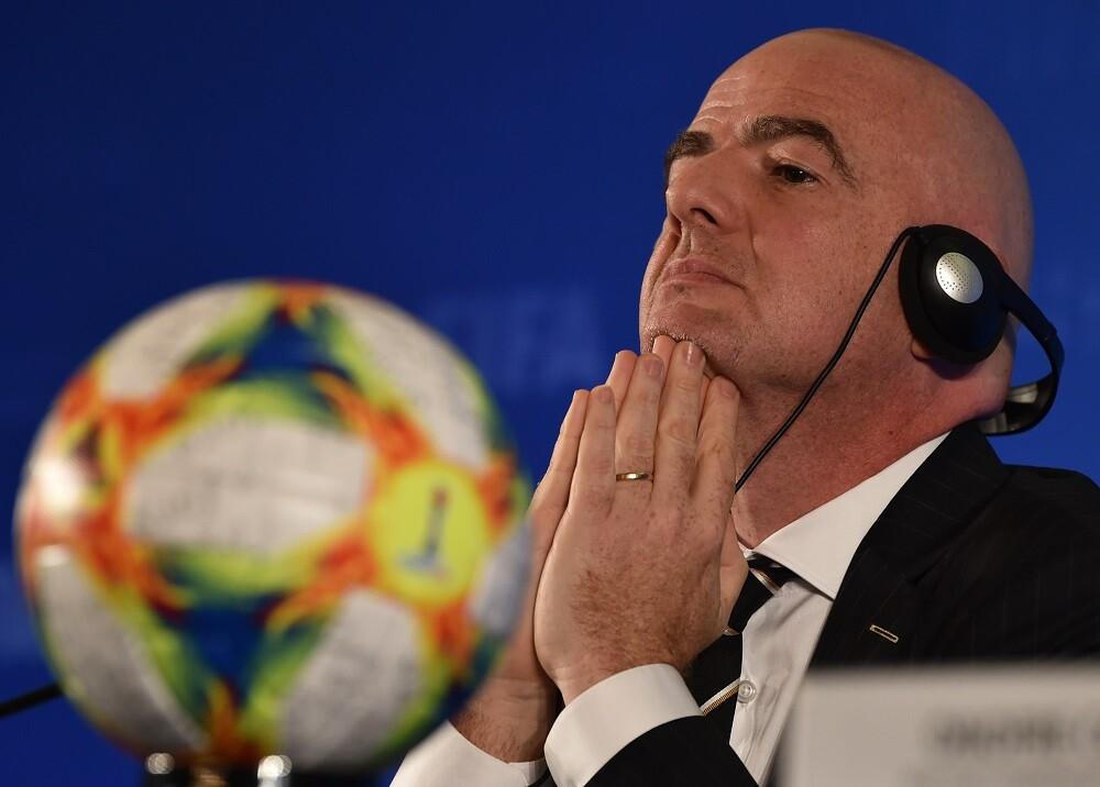 346666_Gianni Infantino, presidente de la FIFA // Foto: AFP