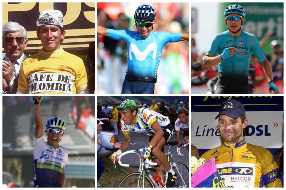 Veinte colombianos han ganado al menos una etapa en la historia de la Vuelta a España.