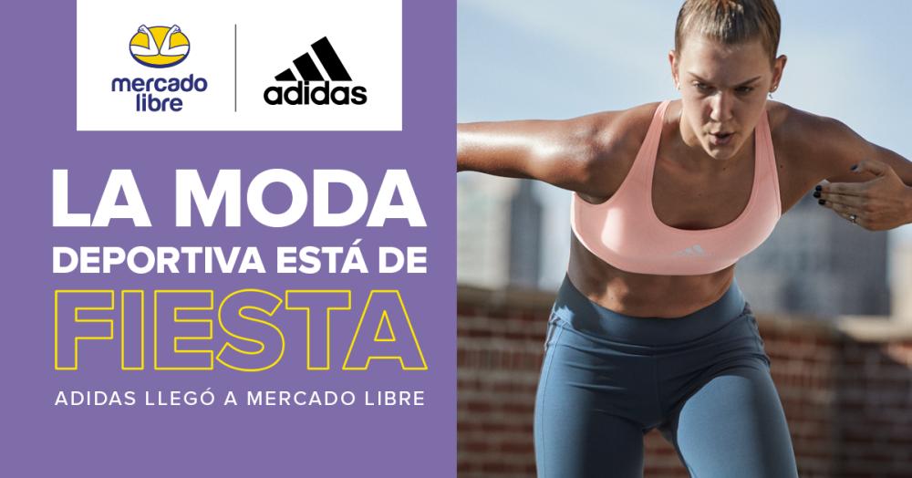 Adidas estrena tienda en Mercado Libre