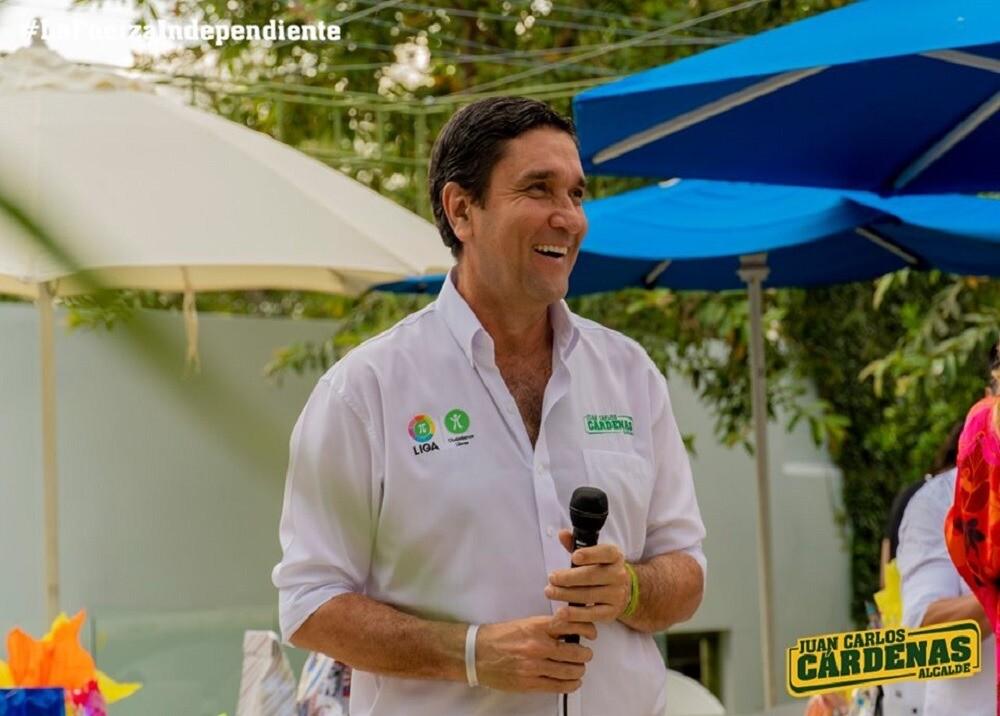 346957_BLU Radio. Juan Carlos Cárdenas, nuevo alcalde de Bucaramanga / Foto: Juan Carlos Cárdenas