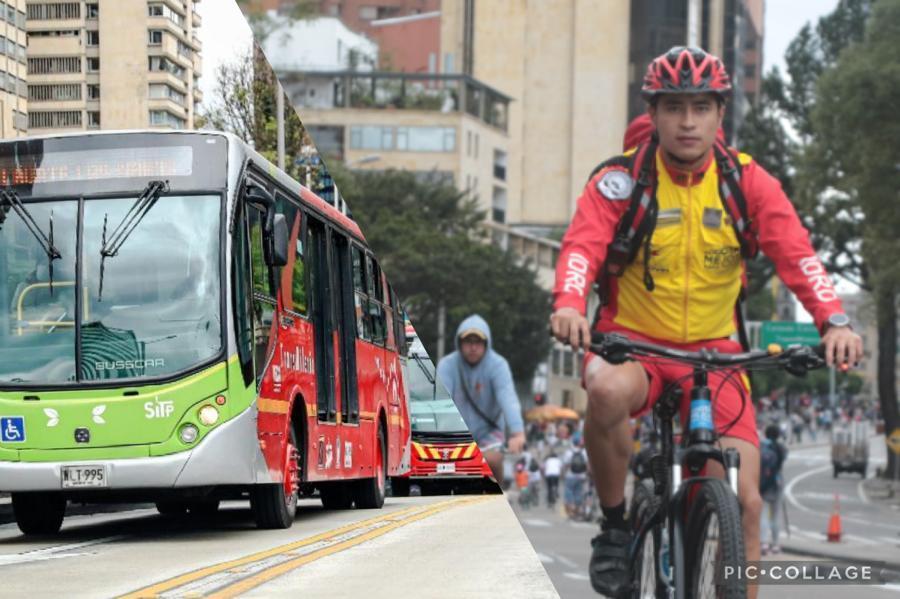 TransMilenio/ciclovía