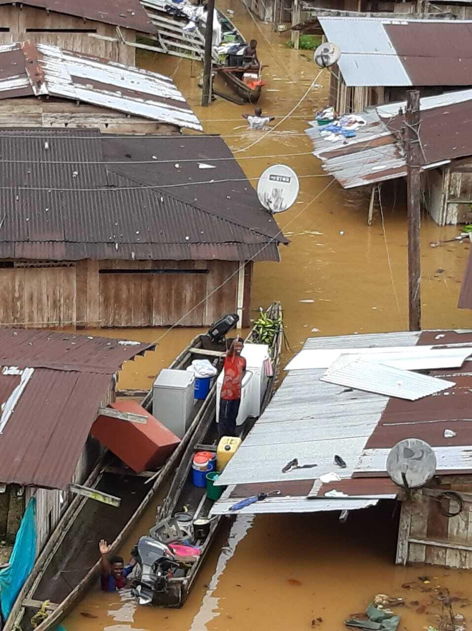 359458_Inundaciones en Bojayá, Chocó. Foto: Cortesía