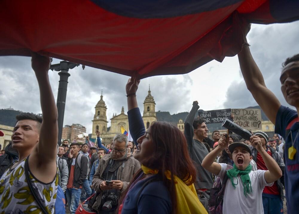 349745_BLU Radio // Paro Nacional // Foto: AFP