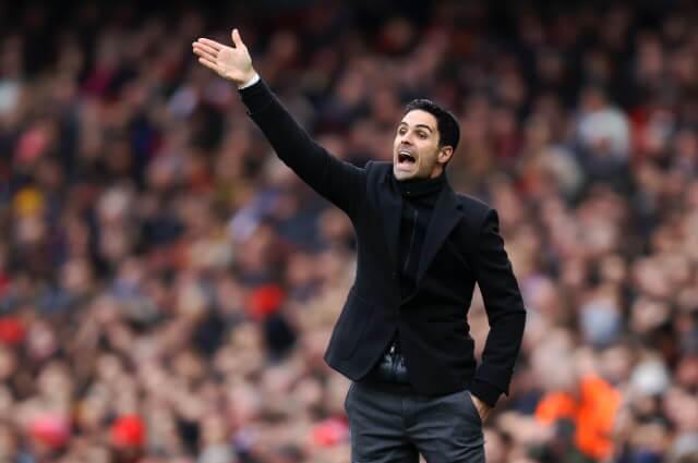 333671_Mikel Arteta, entrenador del Arsenal.