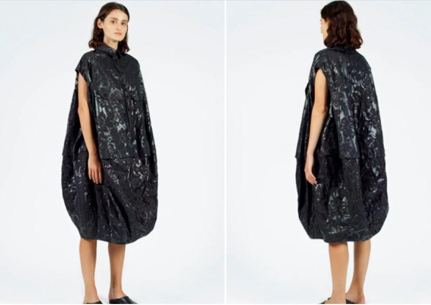 El polémico precio de un raro vestido que llamó la atención en redes.JPG