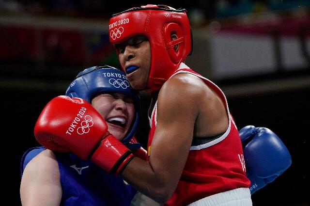 Ingrit Valencia, en los Juegos Olímpicos de Tokio 2020