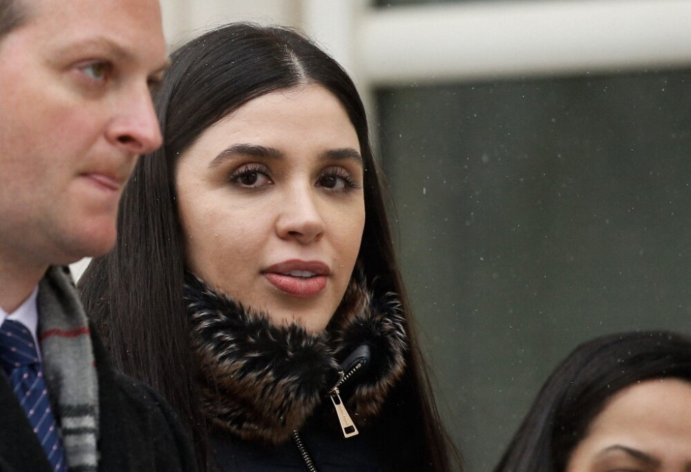 Emma Coronel, esposa del 'Chapo' Guzmán. Foto AFP