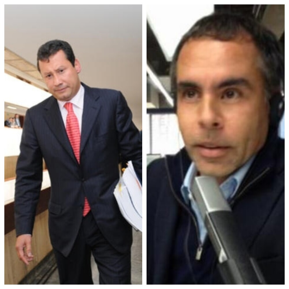 319015_Blu Radio/ Jaime Lombana y Armando Benedetti. Foto: BLU Radio