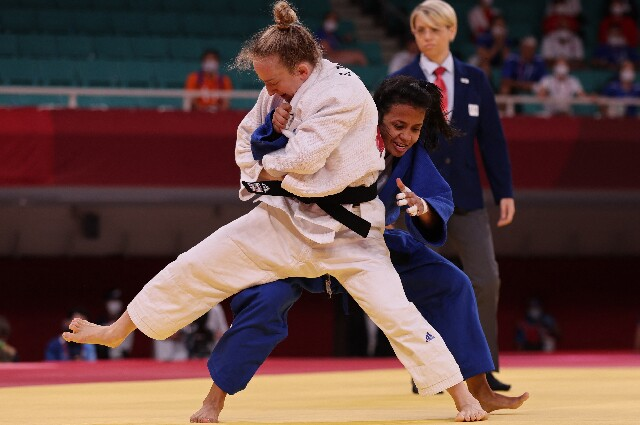 Luz Adiela Álvarez, en los Juegos Olímpicos de Tokio