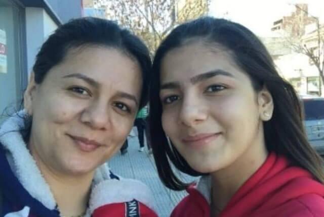Sandra Yuliana Tavera López y su hija Luisa / Cortesía.