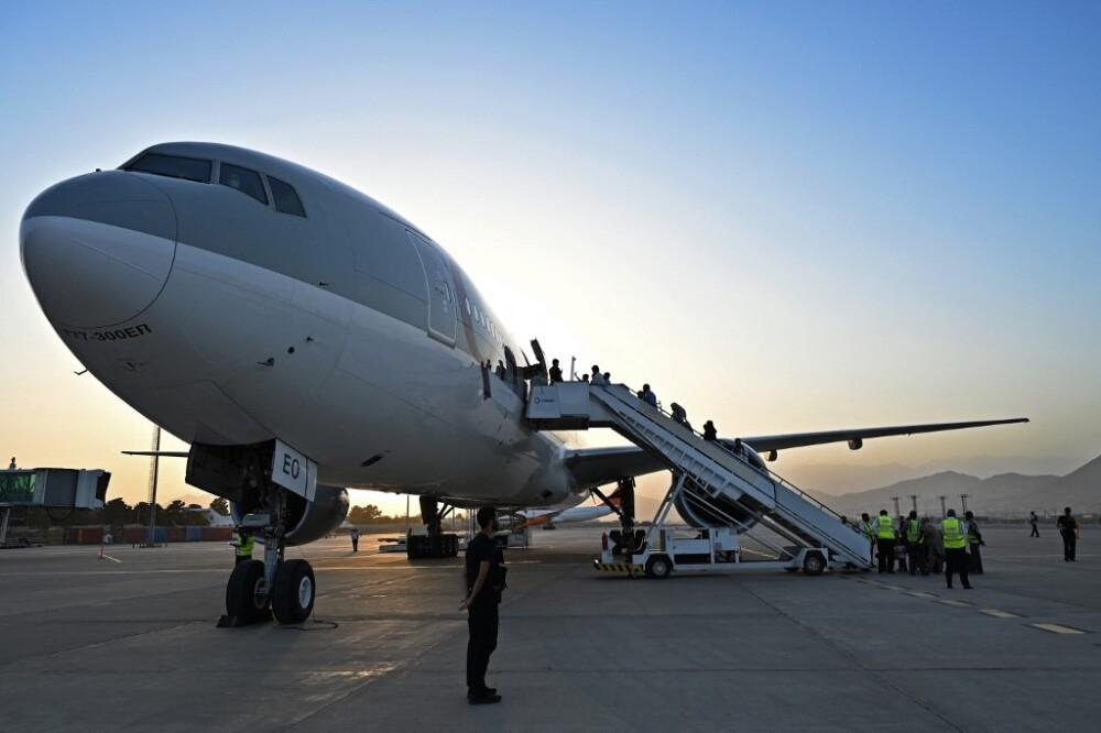 AFGHANISTAN-CONFLICT-QATAR-FLIGHT
