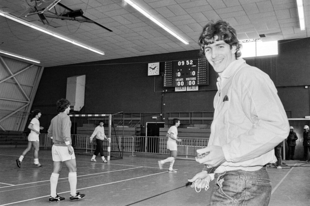 Jugador de fútbol Paolo Rossi