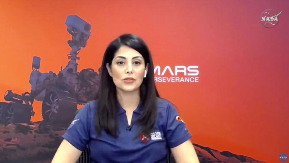 Diana Trujillo narra aterrizaje en Marte del Perseverance. Foto Nasa.JPG