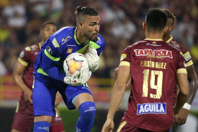 Álvaro Montero, guardameta del Deportes Tolima