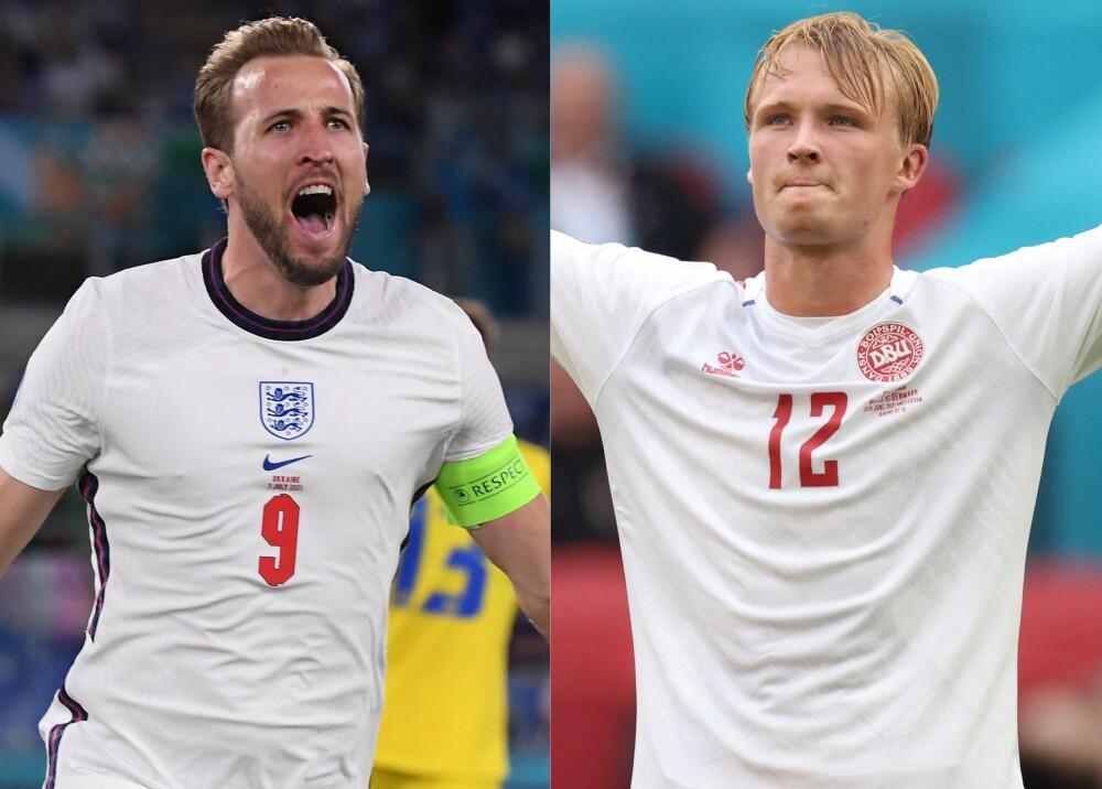 Selecciones de Inglaterra y Dinamarca Foto AFP.jpg