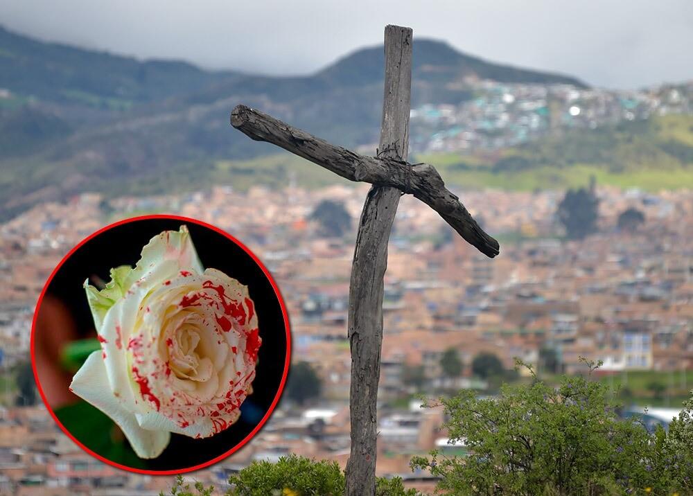 372750_Feminicidios en Bogotá // Foto: AFP
