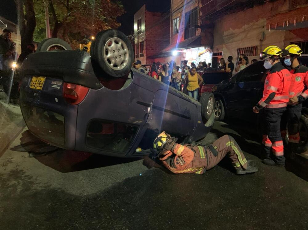 Accidente conductor borracho en Bello.jpeg