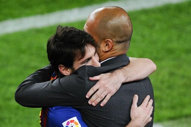 330450_Messi y Guardiola