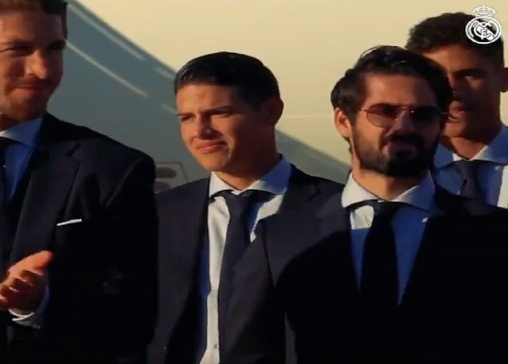 352269_BLU Radio. James Rodríguez / Foto: Tomada video Real Madrid